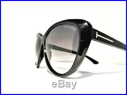 Tom Ford Tf230 01b Malin Black Sunglasses Women's Frames 61mm Tf 230