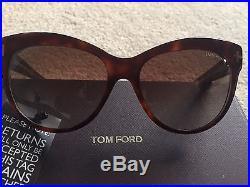 Tom Ford Tortoise Shell'Lily' Sunglasses BNWT
