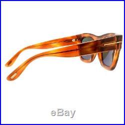 Tom Ford WAGNER TF558 53N blonde Havana square/ geometric Sunglasses Unisex