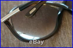 Tom Ford Whitney Tf9 Womens Oversized Sunglasses Brown & Gold Italian Classics