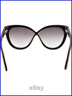 Tom Ford Women's Arabella FT0511-05G-59 Black Cat Eye Sunglasses