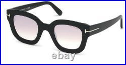 Tom Ford Women's FT0659-01Z-48 Pia 48mm Black Frame Sunglasses