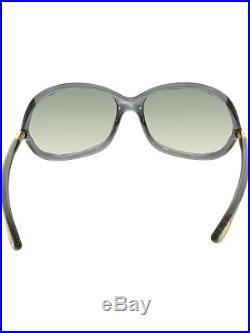 Tom Ford Women's Gradient Jennifer FT0008-0B5-61 Black Square Sunglasses