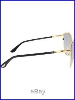 Tom Ford Women's Gradient Penelope FT0320-28B-59 Black Round Sunglasses