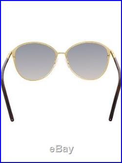 Tom Ford Women's Gradient Penelope FT0320-28F-59 Brown Round Sunglasses