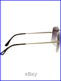 Tom Ford Women's Gradient Ronnie FT0439-48F-60 Gold Square Sunglasses