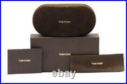 Tom Ford Women's Julie TF685 TF/685 01C Shiny Black Square Sunglasses 52mm