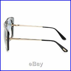 Tom Ford Women's Marissa FT0619-01B 52 Gradient Smoke Lens Sunglasses