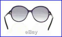 Tom Ford Women's Sunglasses Purple/ Blue Round Frame 100% Authentic! New