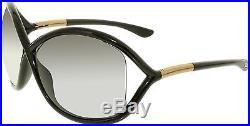 Tom Ford Women's Whitney FT0009-199-64 Black Butterfly Sunglasses