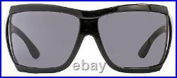 Tom Ford Wrap Sunglasses TF402 Sedgewick 01A Shiny Black FT0402