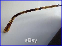 Tom Ford ft285 blond Havana blue lens aviator mens sunglasses