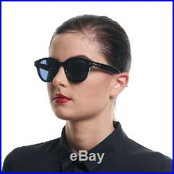 Tom Ford stylische Sonnenbrille in Trapez-Stil 100% UVA & UVB Schutz Schwarz