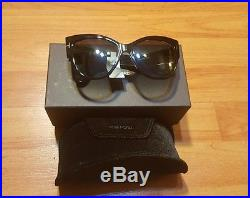 Tom Ford sunglasses, Anoushka shiny black shades, new withtags, made in Italy